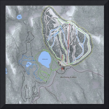 Anthony Lakes Resort Trail Map