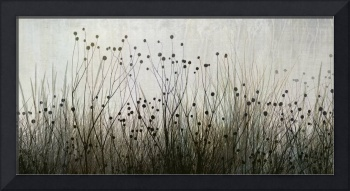 Wildflower silhouettes Ivory & Brown