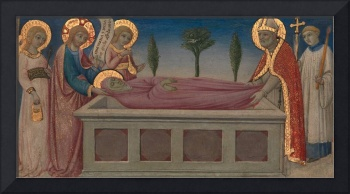 Sano di Pietro~The Burial of Saint Martha