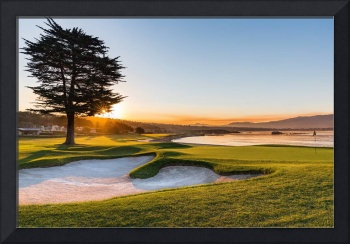 18th at Pebble Beach Golf Course