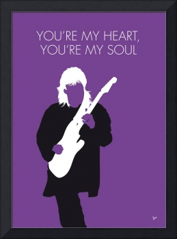 No281 MY Modern Talking Minimal Music poster
