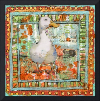 Bird Art | duck art | The Optimist | farm art