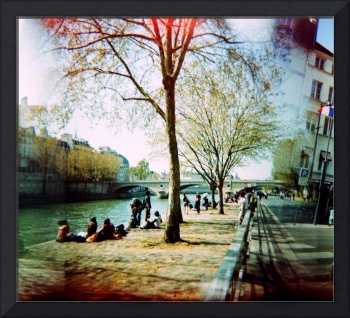 Paris in the spring time