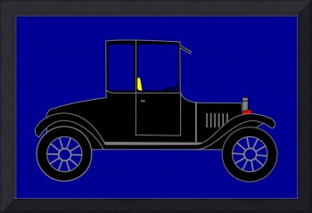 1919 Ford High Body Model-T Coupe