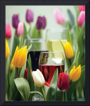 Tulips and Wine