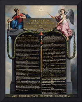 Declaration of the Rights of Man and Citizen, 1789