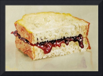Jem Sandwich Oil Painting