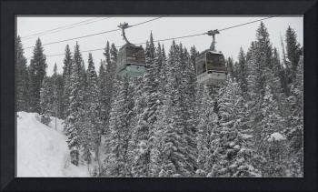 Gondolas at Vail SKi Resort, Winter 2010