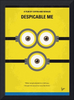 No213 My Despicable me minimal movie poster