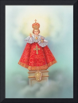 Infant Jesus dressed in papal robes