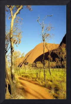 Red Dirt Path at Uluru