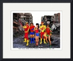 Teen Titans Defeat Alien Invastion, San Francisco  by David Caldevilla