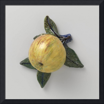 Decorative object in the form of an apple, anonymo