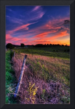 The Sky from Green Summit Cemetery by Jim Crotty