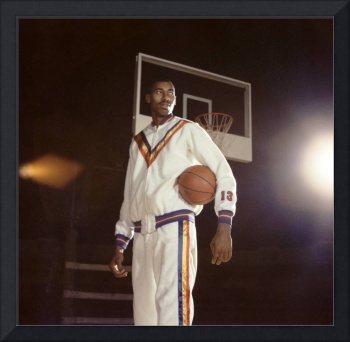 Wilt Chamberlain in Warmups