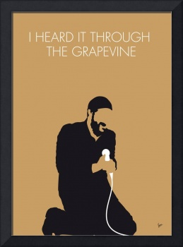 No060 MY MARVIN GAYE Minimal Music poster