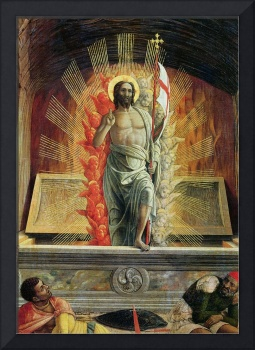 The Resurrection (detail) by Andrea Mantegna