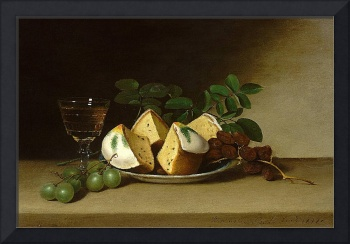 Raphaelle Peale - Still Life with Cake 1818