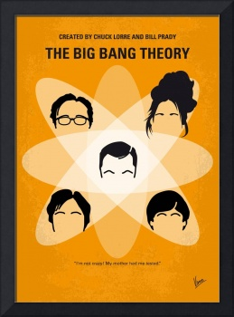 No196 My The Big Bang Theory minimal poster