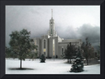 Timpanogos Temple Large-16x22-tinted
