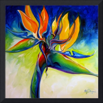 BIRD OF PARADISE 24 by MARCIA BALDWIN