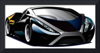 Cool car vector
