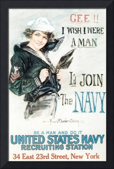 Howard Chandler Christy Join The Navy
