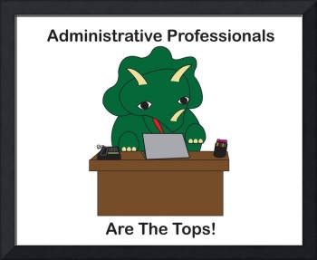Administrative Professionals Top Triceratops Dinos