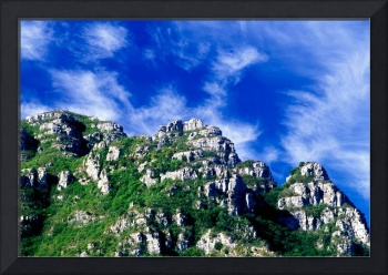 LIGURIA MOUNTAINS LANDSCAPES Pennavaire rocks