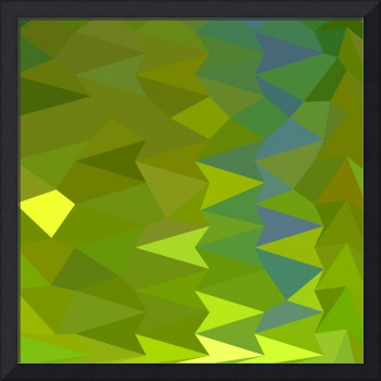 June Bud Green Abstract Low Polygon Background