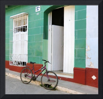 Doors and Bicycle