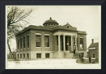 Carnegie Public Library on North Ash