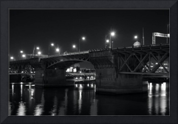 burnside bridge, portland, oregon