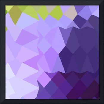 Cyber Grape Purple Abstract Low Polygon Background