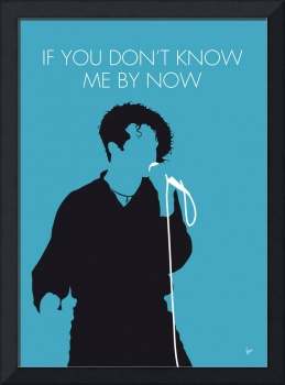 No165 MY SIMPLY RED Minimal Music poster