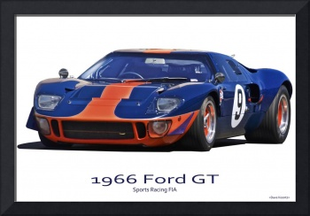 1966 Ford GT40 'Sports Racing FIA'