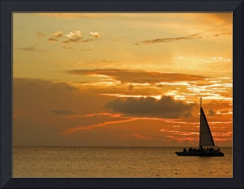 Sailing into Sunset ARUBA