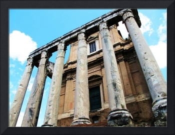 Temple of Antoninus and Faustina - Roman Forum