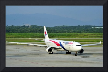 Malaysia A330, Taxi to TO