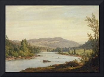 Landscape with River (Scene in Northern New York)