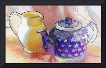 Teapot and Pitcher