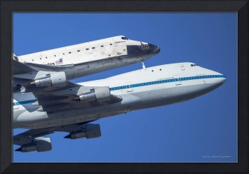 Space Shuttle Endeavor ferry flight to LA (5)