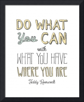 Do What You Can • Multi C