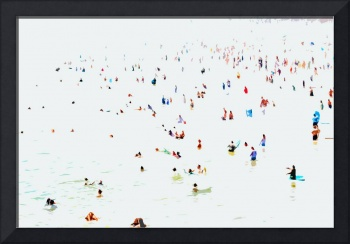 A Day at the Beach V - Abstract