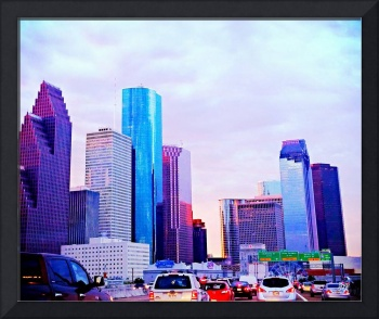 City Skyline Art 1