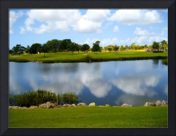 Spring Lake and Golf Course View