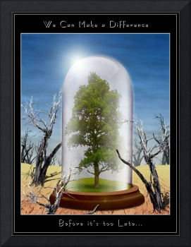 Last Living Tree in a Bell Jar