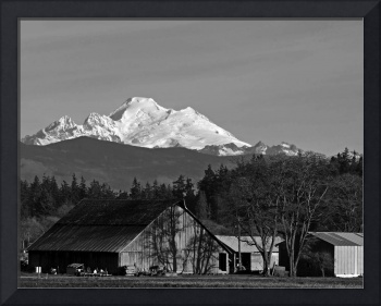 The Barn and Mount Baker
