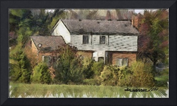 Country Home - Penciled