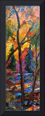 Deep In The Forest - Oil Painting